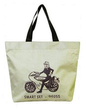 China manufacturer standard size cotton tote bag