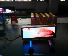 Shenzhen RGX Top Selling 3G Taxi Top LED Display Advertising signs