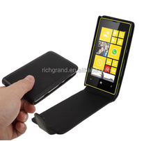 High Quality Pure Color Vertical Flip Leather pouch Case for Nokia Lumia 520