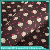 Durable dacron printed oxford fabric for bag material