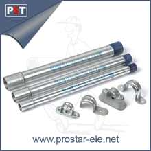 BS4568 Galvanized Steel Electrical GI Pipe and Conduit Accessories