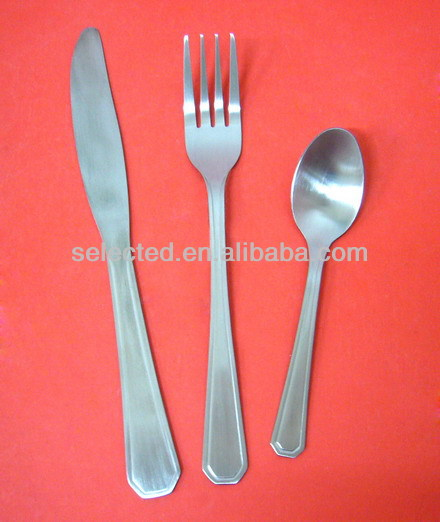 3 pieces Stainless Steel dinnerware set with reasonable price
