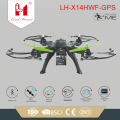 LH-X14HWF High quality rc big quadcopter GPS hold height rc drones wifi with hd camera for sales