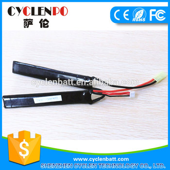 7.4V 1300mah lithium polymer battery suppliers, rechargeable battery for toys