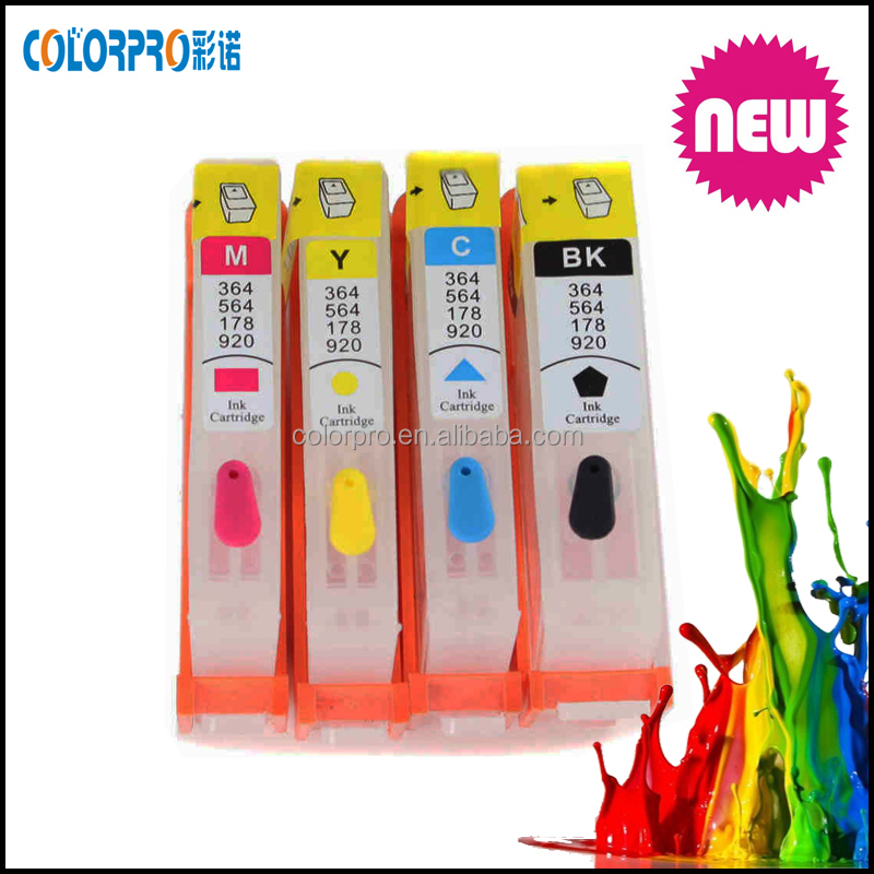 For HP Deskjet Ink Advantage 3525/4615/4625/5525/6520/6525 refillable ink cartridge for hp 655 with ARC chip