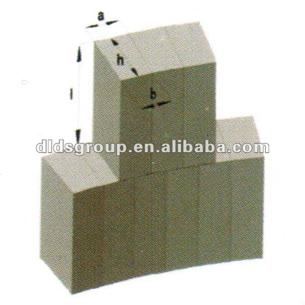 Refractory magnesia carbon brick