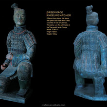 earthenware terra cotta warriors model