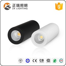 High bridgelux cob led dimmable led surface mounted ceiling down light