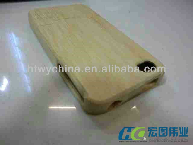 High Quality Wooden Bamboo Phone Covers For iPhone 4 4S