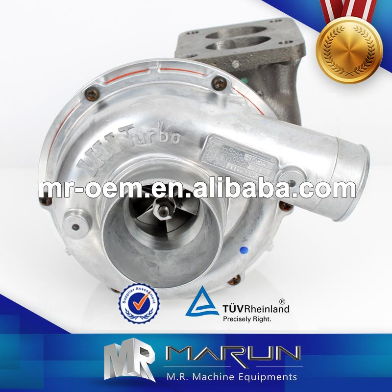 Turbocharger Ball Bearing Turbo 6BG1T Engine Spare Part Turbocharger Working