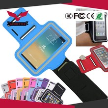 Holes Arm Band Running SPORT GYM Armband Case For Iphone 5 5S Jogging Mobile Phone Cover