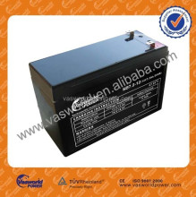 solar GEL battery 12v 7ah UPS deep cycle battery with international certificate