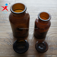 250ml And 500ml Amber Glass Bottles