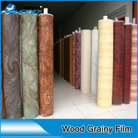 wood grain pvc self adhesive foil PVC Wood Grain Foil