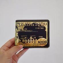 PU leather rfid blocking wallet