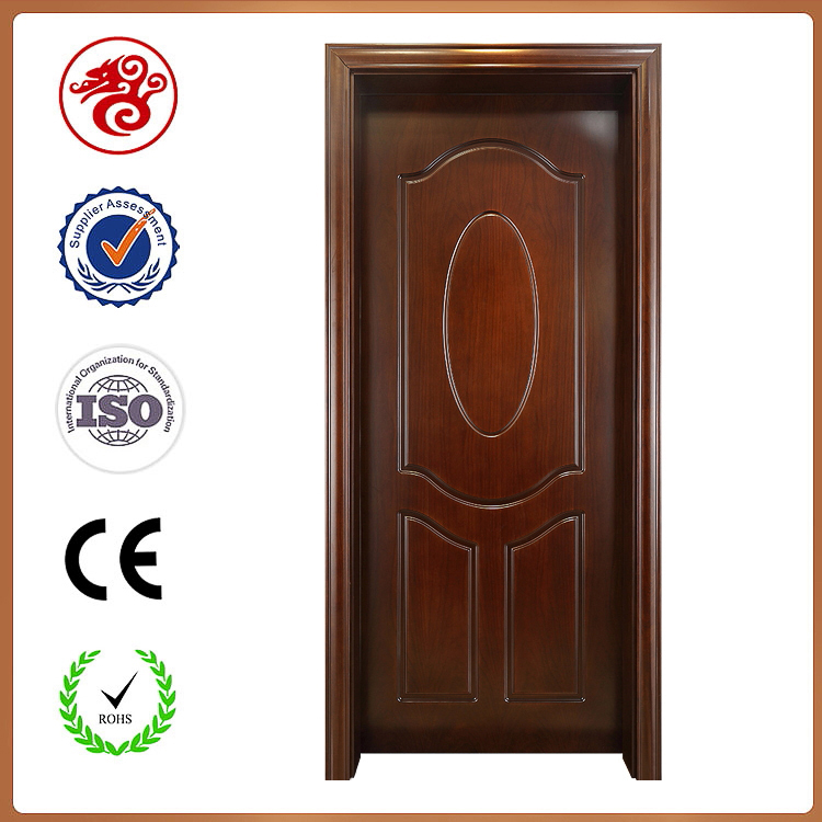 Latest design interior wood door for bedroom and hotel
