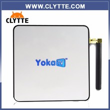 MINI HD tv box KB2 YOKATV AMLOGIC S912 OCTA CORE ANDROID 6.0 TV BOX 2GB 32GB ANDROID 6.0 SET TOP BOX BLUETOOTH 4.0