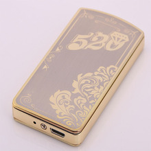 Fancy Items Plastic Electronic Rechargeable USB Lighter
