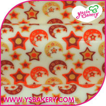 Star & Moon Chocolate Transfer Sheets