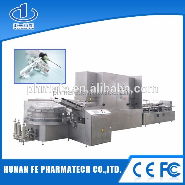 ampoule liquid filling machine with high quality for medical packaging