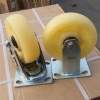 nylon heavy duty with lock 3 wheel dolly caster
