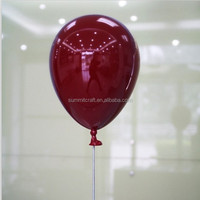 Colorful artificial advertisement ballon display props hard plastic balloon