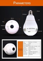 QP135 light best mini hidden camera bulb