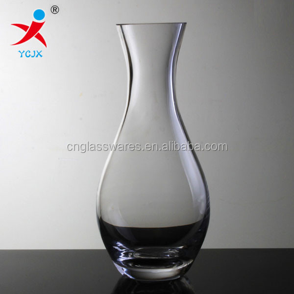 Europe type transparent glass vase handicrafts sitting room bedroom furnishing articles than love rose vase wholesale