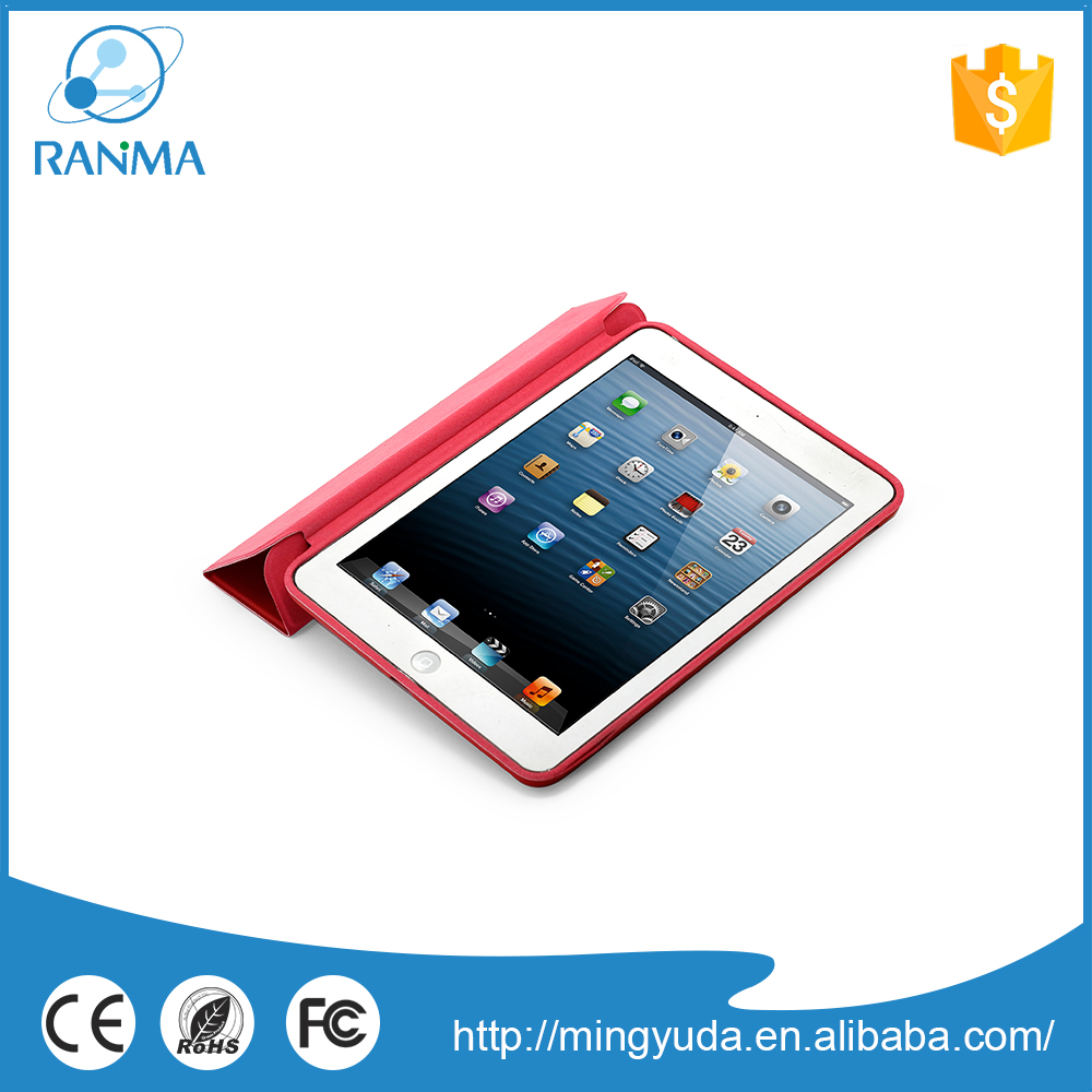 Universal Ultrathin flip cover pu leather case for ipad mini