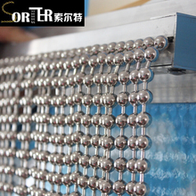 wholesale iron metal high quality ball chain curtain