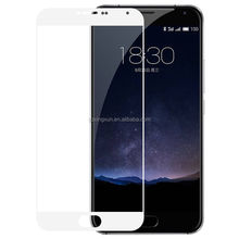 Manufacture price !slim secret tempered glass screen protector for meizu