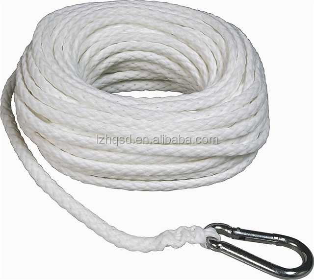 Polypropylene fiber Hollow Braid Anchor Line