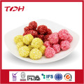 Dog Application Pet Food Type Colorful Rawhide Grain Ball