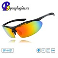 ISO12312 Customized mirrored sport sunglasses