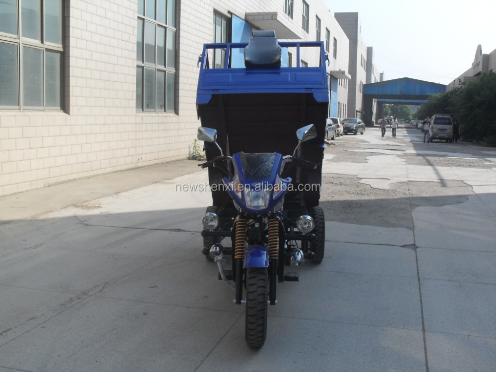Hot Sale Air Cooling Gasoline Three Wheel Cargo Tricycle Motorcycle For Sale