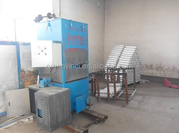 power saving small biomass gasifier wood pellet burner for steam boiler