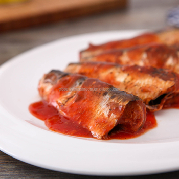 Canned mackerel in Tomato sauce with low price