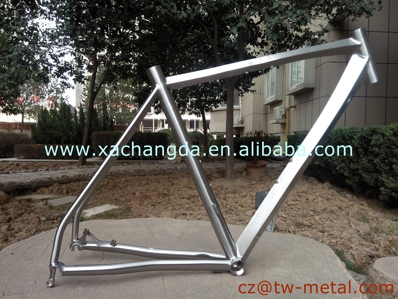 special design!! titanium road bicycle frame Ti road bike frames custom 700C road bike frame