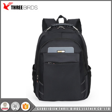 "High quality custom black school backpack 15"" business laptop bags backpack"