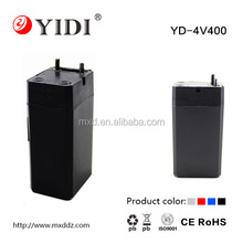 4v 0.4Ah nife battery rechargeable lead acid battery
