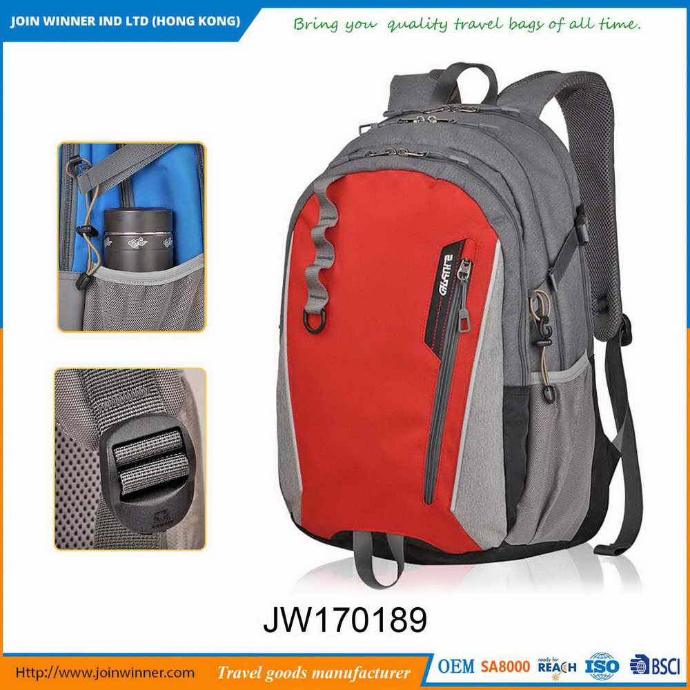 Alibaba Website Nylon Bagpack With Iso9001 Certificates