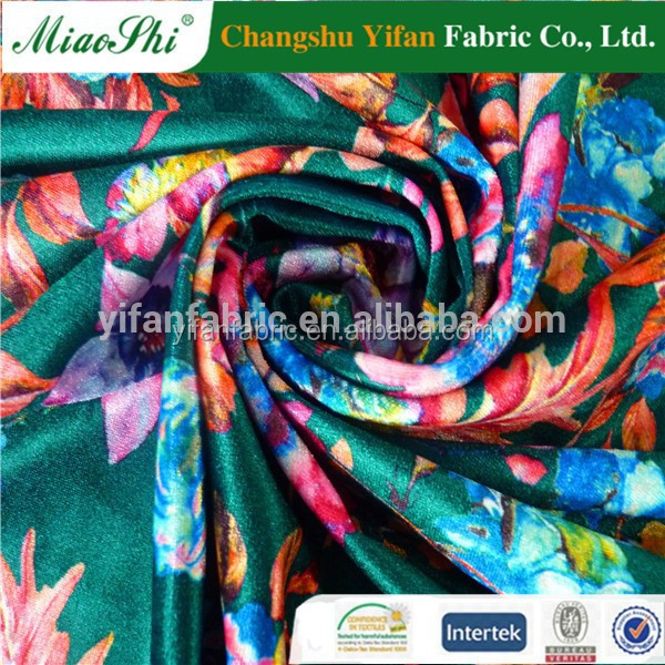 "58""/60' wide velvet spandex fabric swimwear fabirc 4 way stretch fabric"