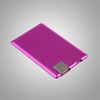 Untra Slim Credit Card Power Bank 1500mah mobile power charger