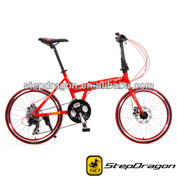 2017 Best Quality Alloy Bike Frame Colorful Folding bike/ Foldable Bicycle -AS-520D