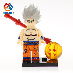 dragon ball action figure brick anime mini small building blocks goku figure toys KF8032