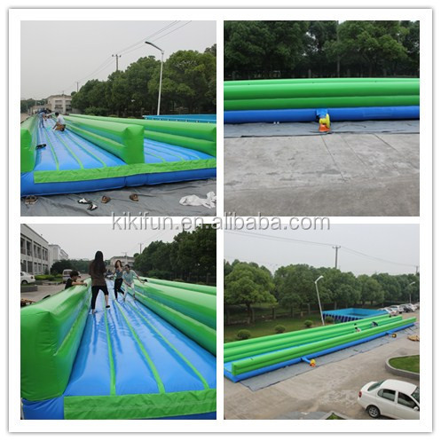 Interesting outdoor slip and slide for adult, fantasy high speed inflatable slip n slide the city