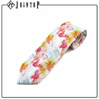 Style high quality digital print butterfly tie