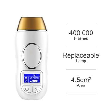 Smooth beauty skin care product portable ipl depilation laser hair removal home use