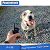 Rainproof Rechargeable LCD Shock Control Pet Dog Training Collar with 100 Level of Vibration + shock