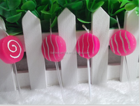 Lollipop Shaped Party Candle/Creative Candle